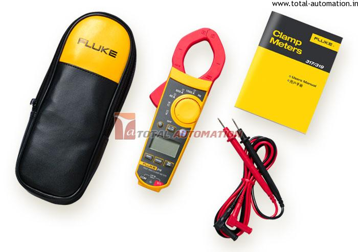 Fluke Clamp Meter : Fluke clamp meters trms