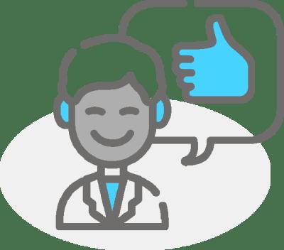 Leading customer simplification