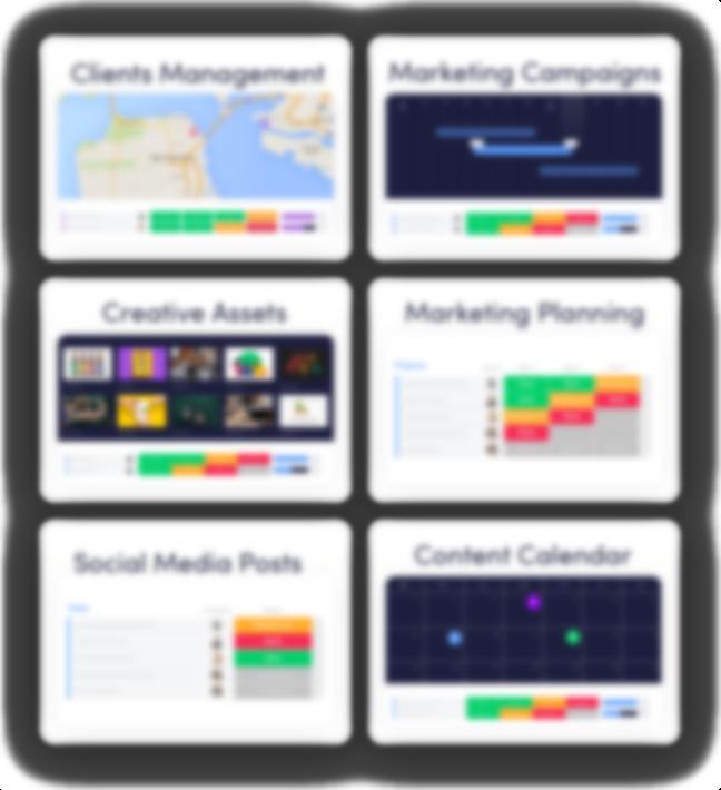 Marketing Management Templates