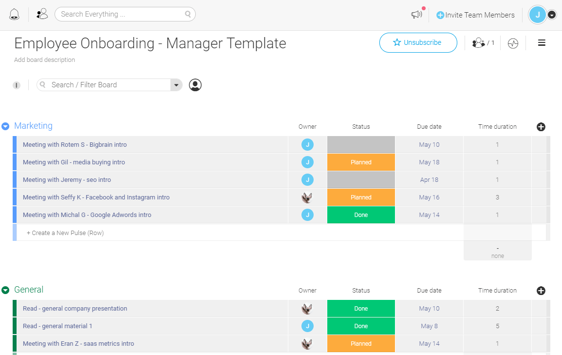 Employee Onboarding Template Checklist Free Easy