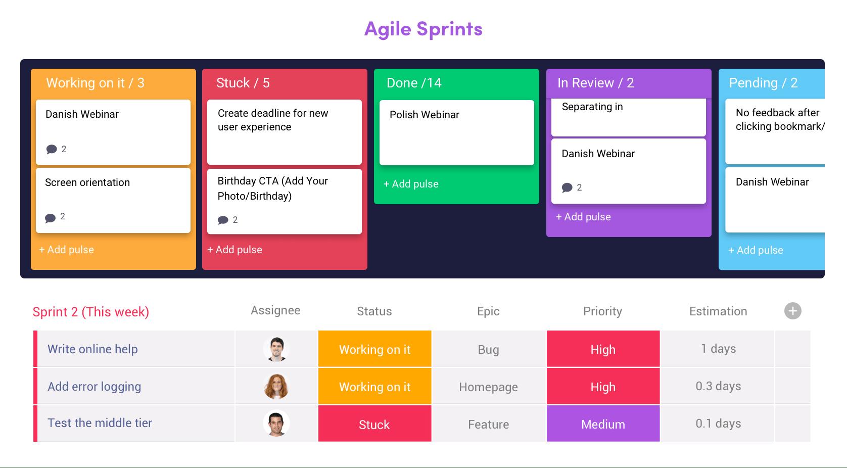 monday team management software