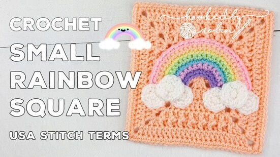 Create your own Small Rainbow Square