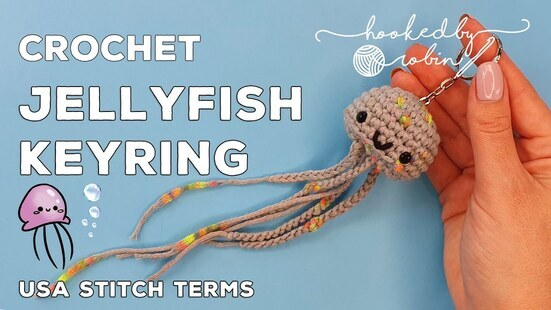 Create your own Jellyfish Keychain