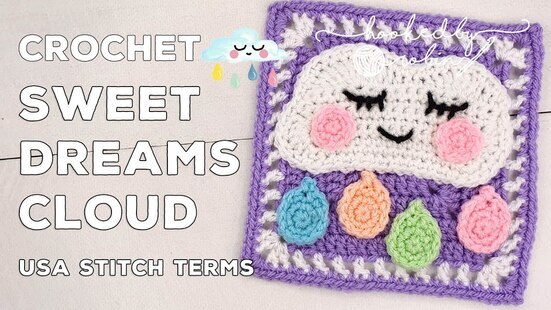 Create your own Sweet Dreams Cloud Square