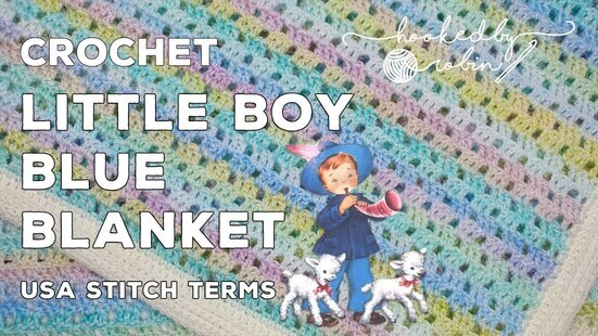 Create your own Little Boy Blue Vintage Baby Blanket