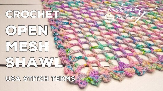 Create your own Simple Lightweight Summer Shawl