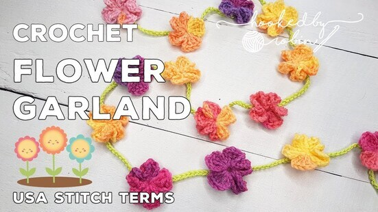Create your own Simple Flower Garland