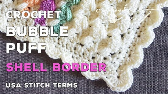 Create your own Bubble Puff Crochet Blanket