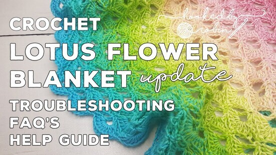 Create your own Lotus Flower Circle Blanket
