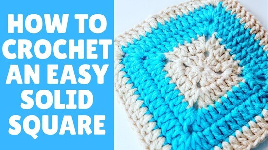 Create your own Solid Granny Square
