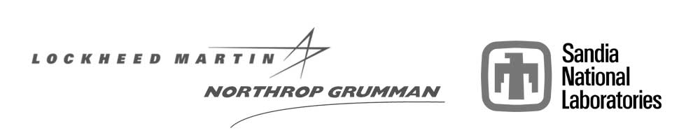 Lockhead Martin, Northrop Grumman, Sandia National Laboratories