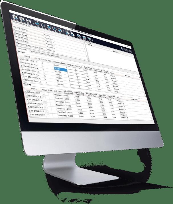 Daqscribe netREC software
