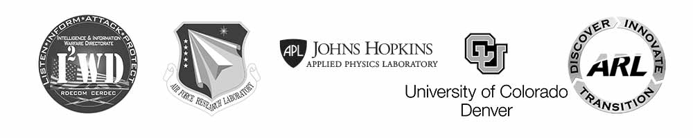 our valued customers & partners - I2WD, Air Force Research Lab, John Hopkins, UCD, ARL