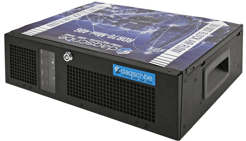 Mini 40GbE capture & record system DDR70-mini-40G