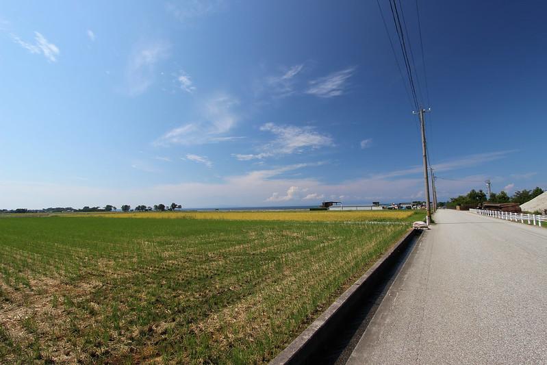 海沿いの道で富山へ その4
