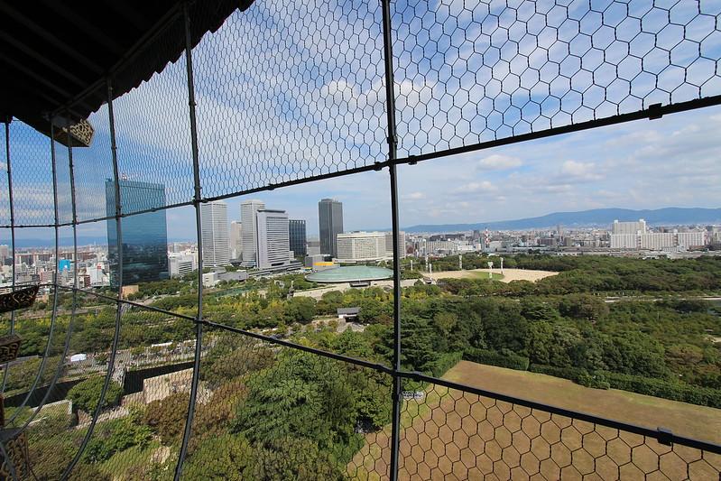 大阪城天守閣からの景色 その2