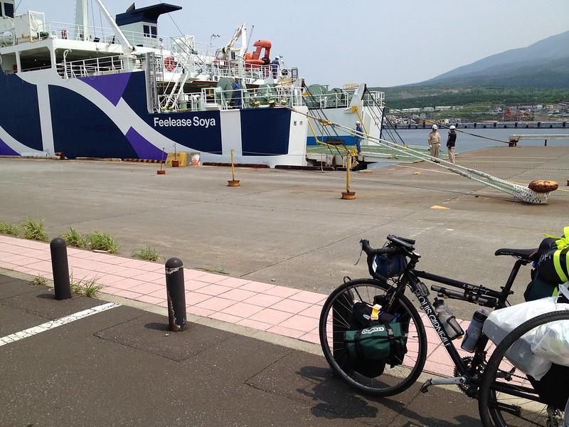 利尻島に到着