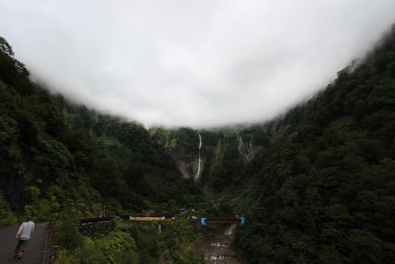 称名滝へ向かう道 その2