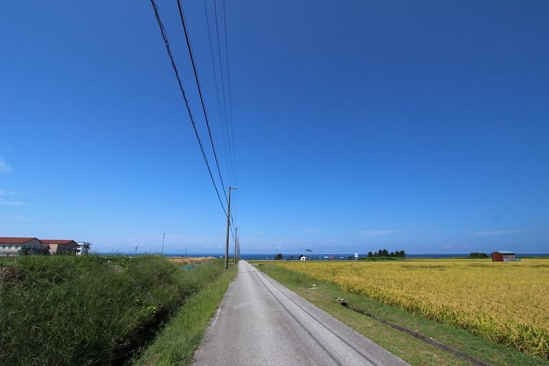 海沿いの道で富山へ その2
