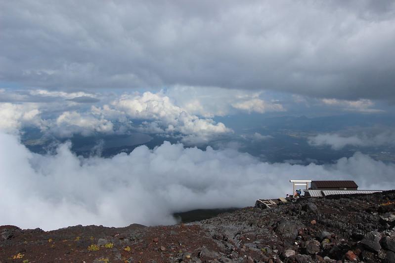 富士登山 下山 その5