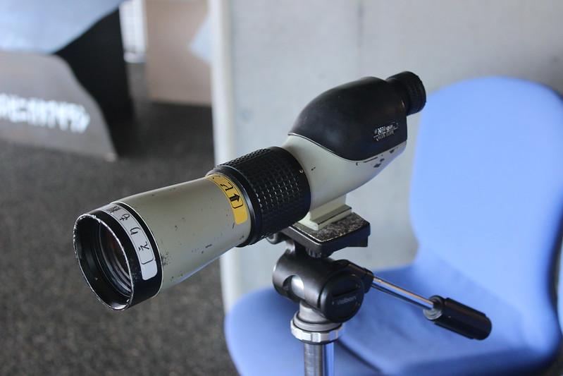 風の館の望遠鏡