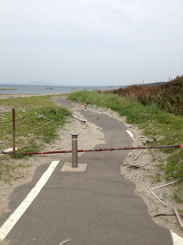 自転車道の道