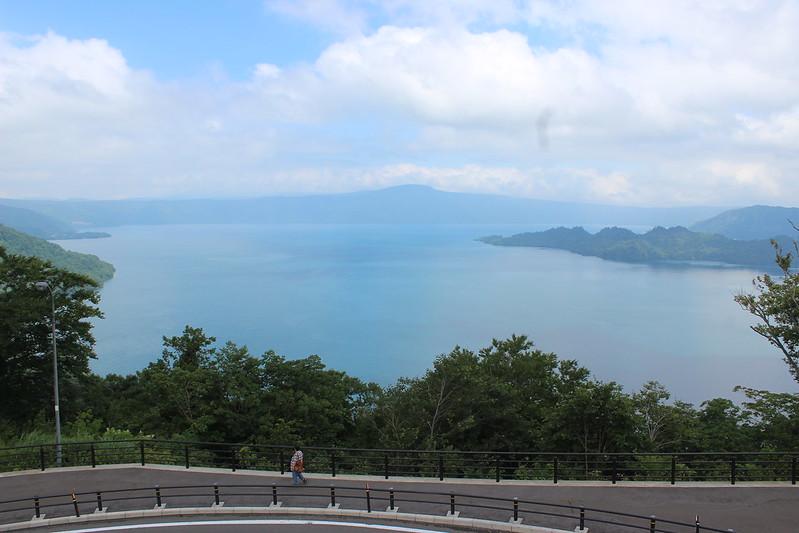 発荷峠からの十和田湖