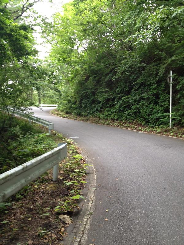 魹ヶ崎から道の駅へ