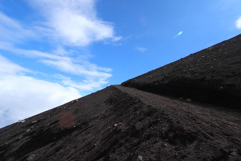 富士登山 下山 その3