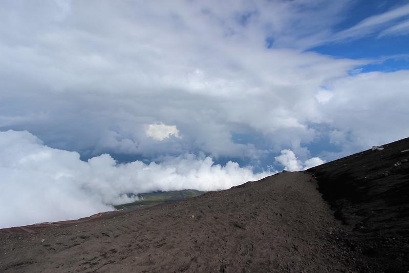 富士登山 下山 その4