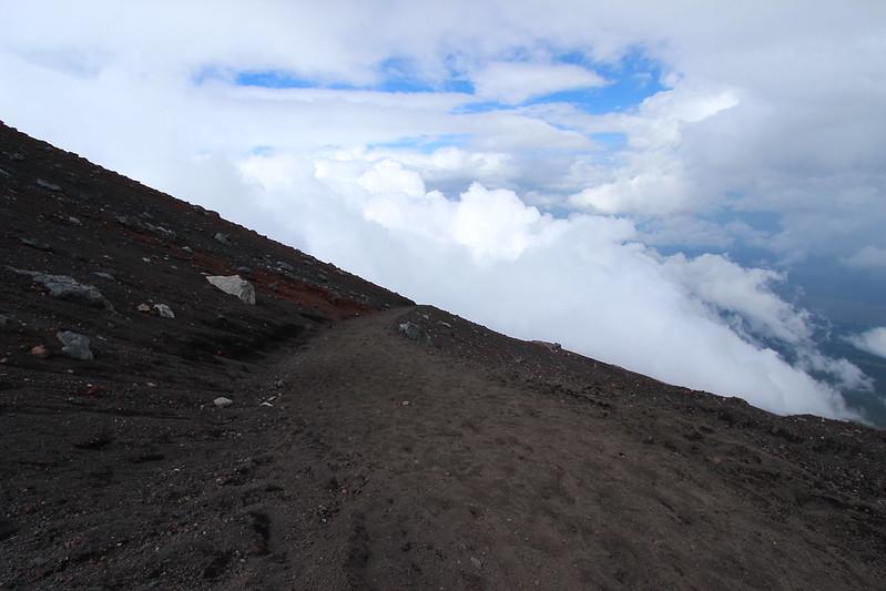 富士登山 下山 その2