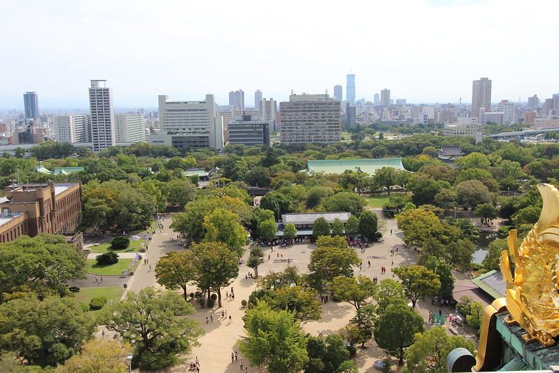 大阪城天守閣からの景色 その3