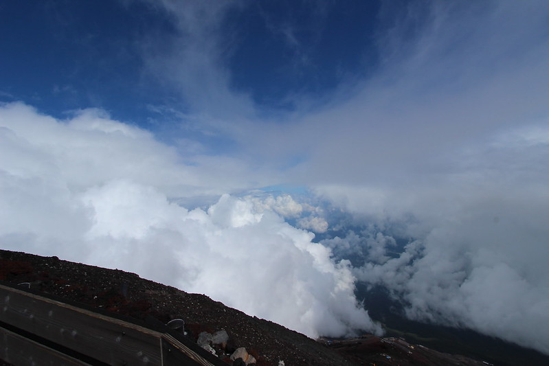富士登山 頂上