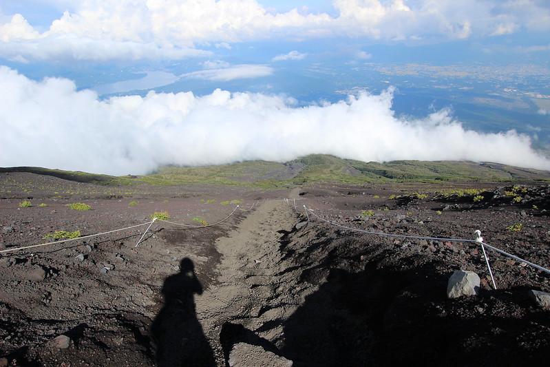 富士登山 下山 砂走り