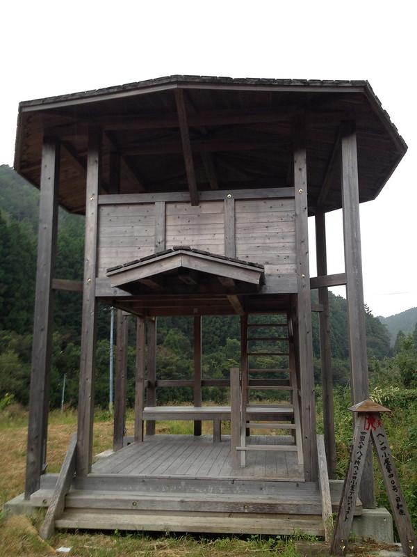 二階建ての休憩所