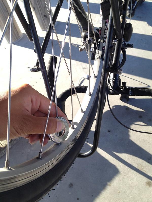 自転車のメンテナンス