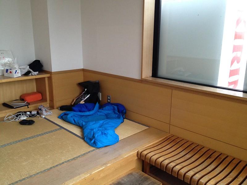 道の駅コスモール大樹のバス待合室