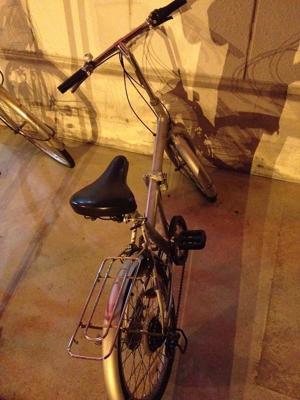 ライダーハウス江尻屋の自転車