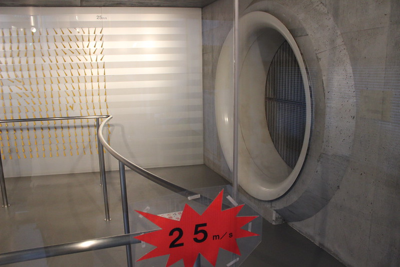 風発生装置は最大25m/s