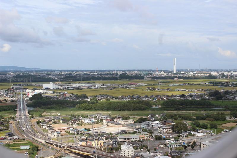 シンボルタワーからの景色