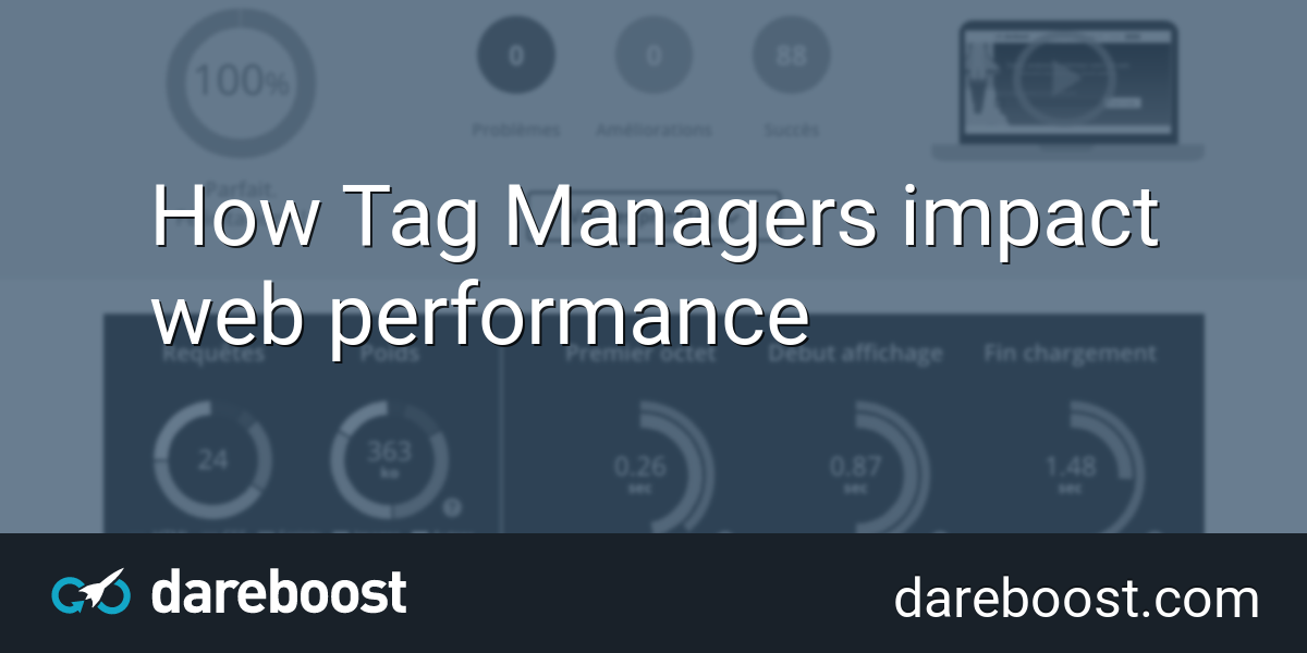 How Tag Managers impact web performance   Dareboost Blog