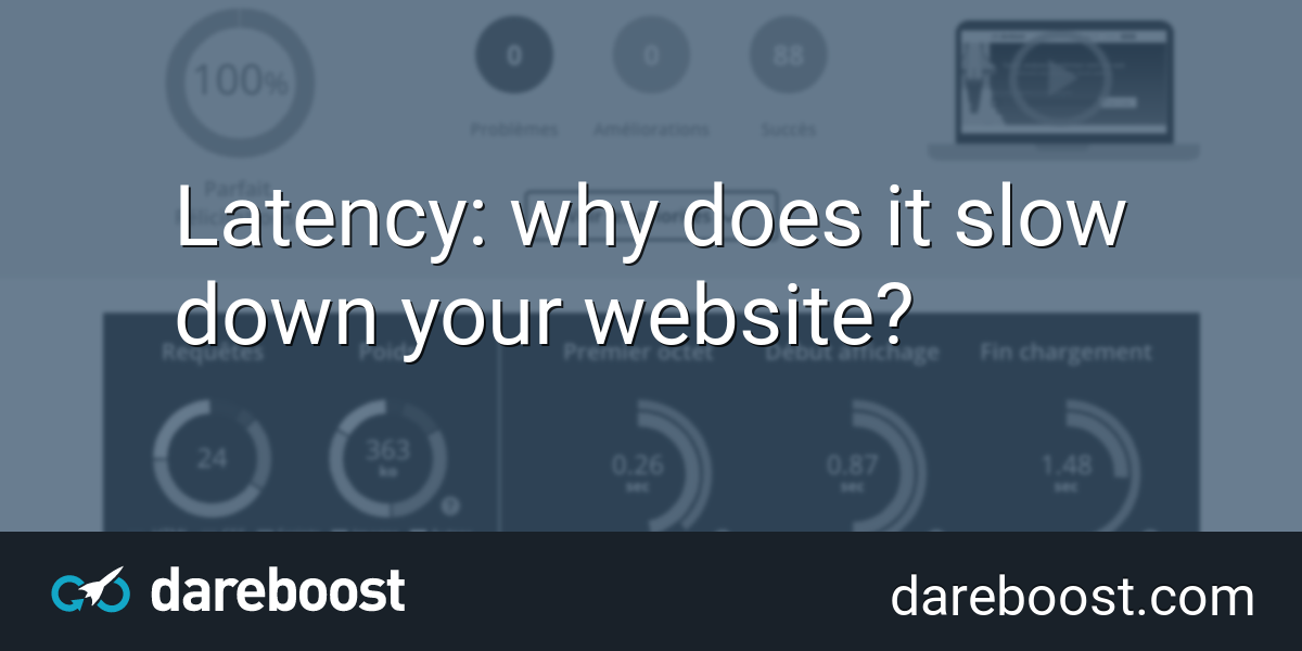Latency: why does it slow down your website? | Dareboost Blog