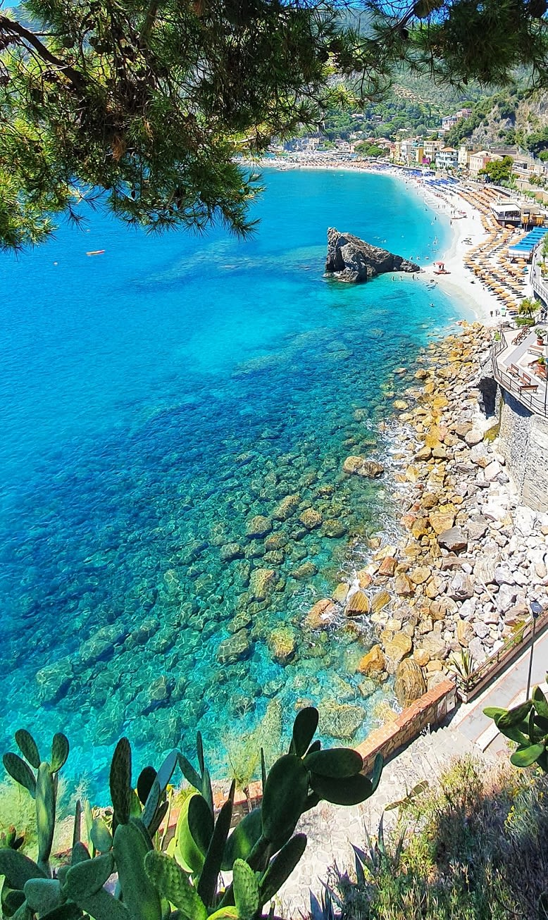 clear water at Cinque Terre