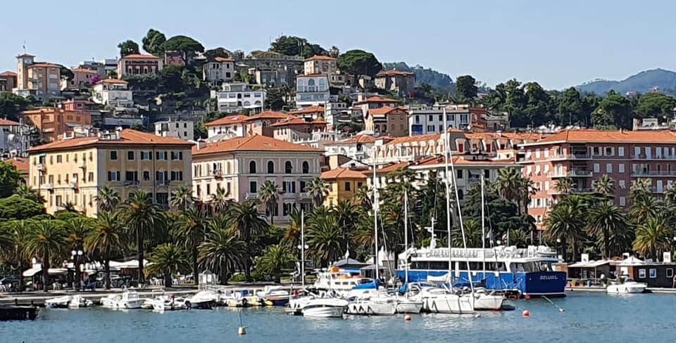 view of la spezia from the waterfront