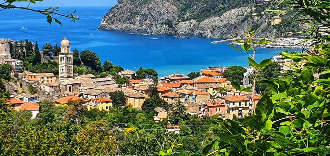 looking down on Levanto