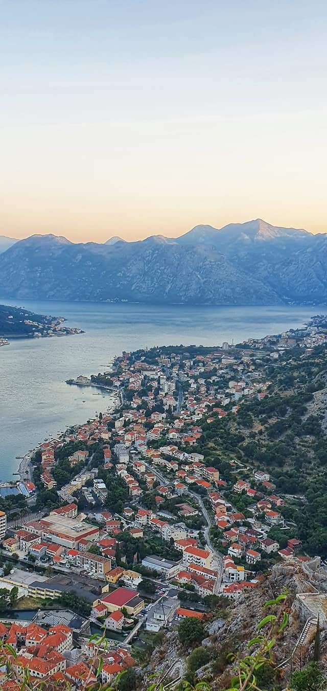 kotor fortress - town