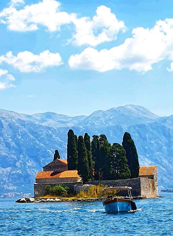 guide to montenegro - our lady of the rocks church