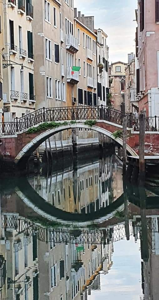 reflections in canal