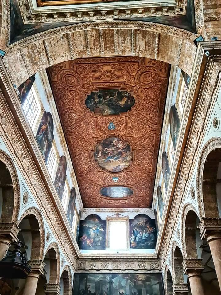 ceiling gallipoli cathedral