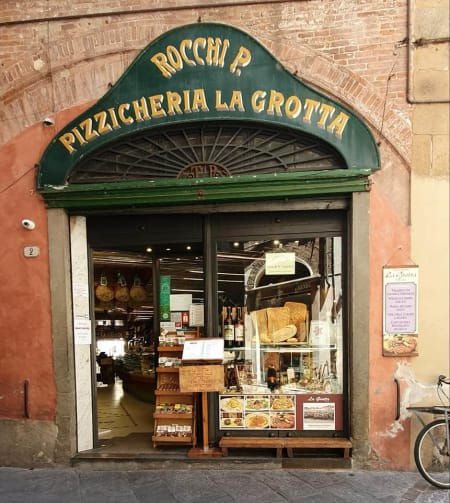 old shop in lucca